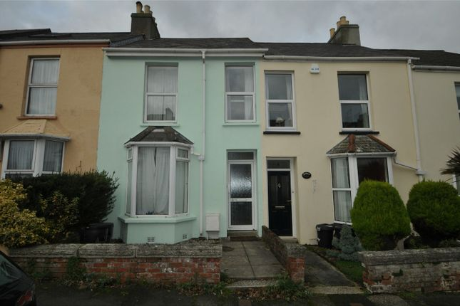 Thumbnail Terraced house to rent in Clifton Crescent, Falmouth