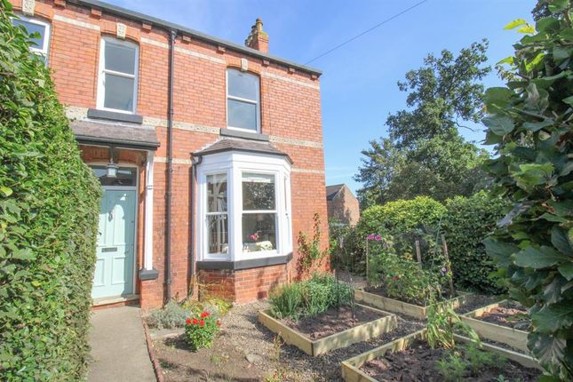Thumbnail Semi-detached house for sale in Clotherholme Road, Ripon