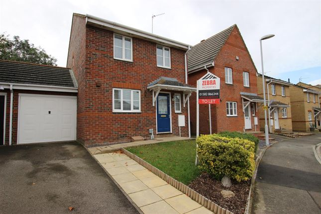 Thumbnail Detached house to rent in Coopers Way, Houghton Regis, Dunstable