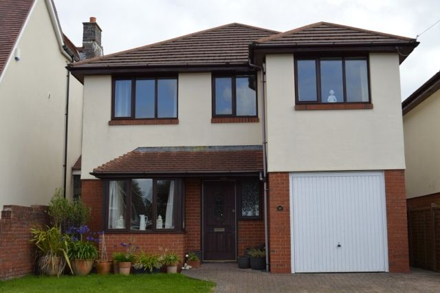 Thumbnail Detached house to rent in Lady Housty Avenue, Newton, Swansea