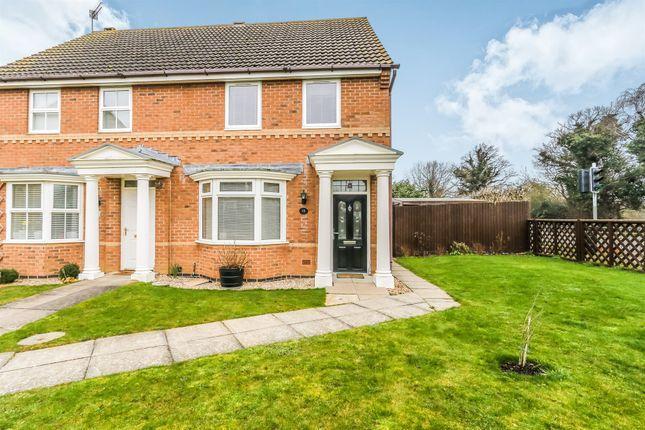 Thumbnail Semi-detached house for sale in Celandine Close, Rushden