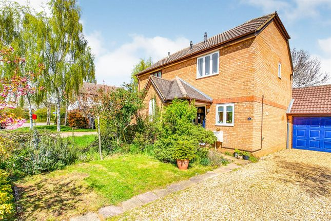 2 bed semi-detached house for sale in Lindisfarne Way, Thrapston, Kettering NN14