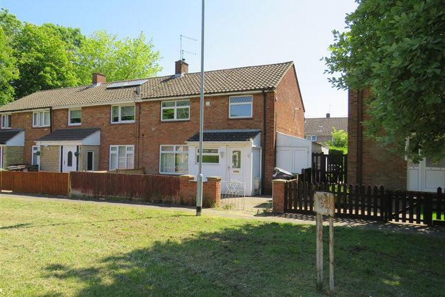 Thumbnail End terrace house for sale in Caythorpe Square, Corby