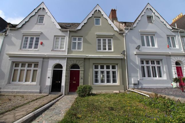 Thumbnail Terraced house for sale in Valletort Road, Stoke, Plymouth