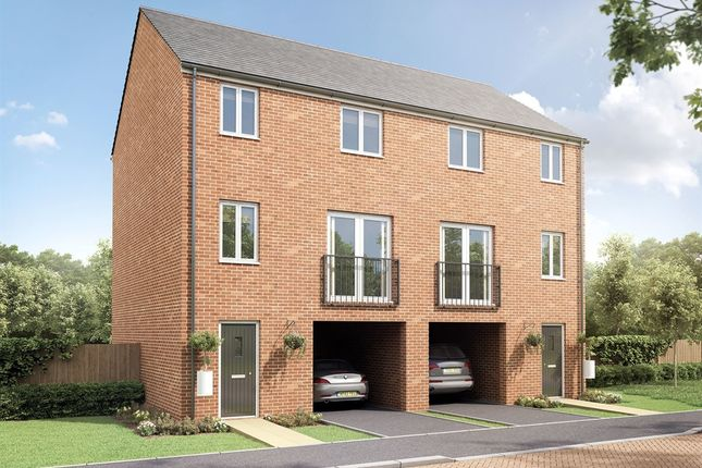 "Thumbnail Semi-detached house for sale in ""The Townhouse"" at Adlam Way, Salisbury"