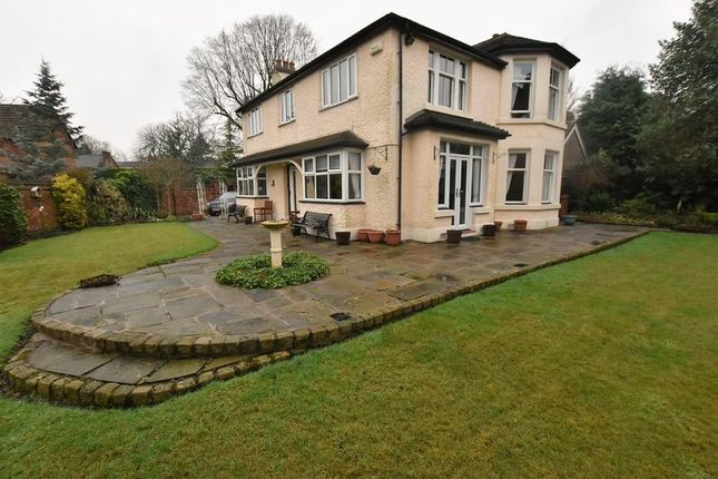 Thumbnail Detached house for sale in The Orchard, 124 Leek Road, Mossley, Congleton