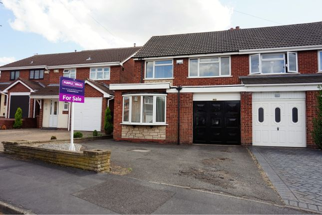 Thumbnail Semi-detached house for sale in Albert Clarke Drive, Willenhall