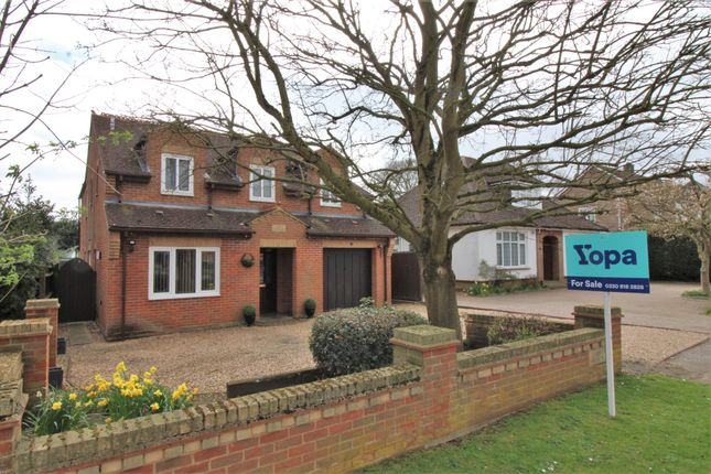 Thumbnail Detached house for sale in Leighton Road, Toddington, Dunstable