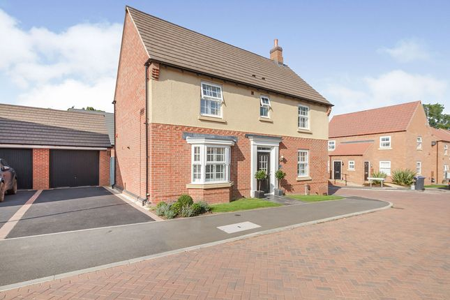Thumbnail Detached house for sale in Kensington Avenue, Burbage, Hinckley, Leicestershire