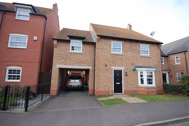 Thumbnail Detached house to rent in Gleneagles Drive, Greylees, Sleaford