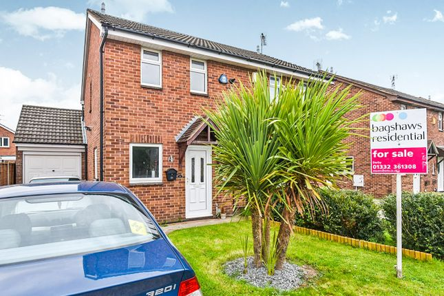 Thumbnail Semi-detached house for sale in Sweetbriar Close, Alvaston, Derby