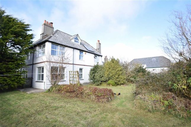 Thumbnail Semi-detached house for sale in Woodford, Woodford, Bude