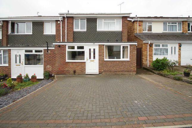 Thumbnail End terrace house to rent in Heath Brow, Hemel Hempstead