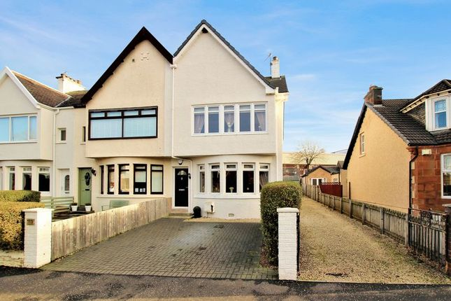 Thumbnail End terrace house for sale in Manse Road, Motherwell