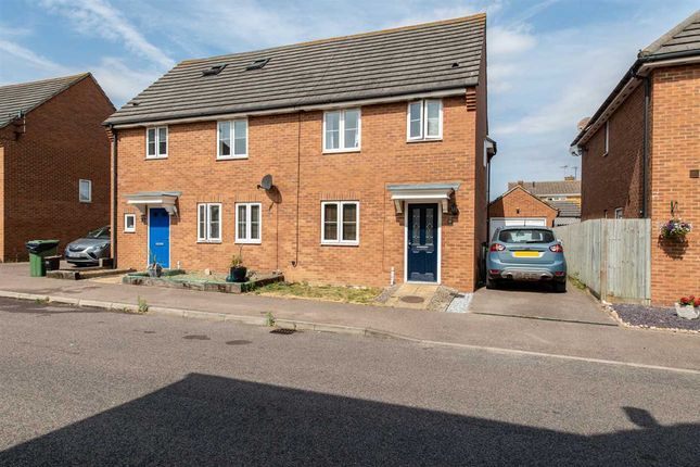 Thumbnail Semi-detached house to rent in Maylam Gardens, Sittingbourne