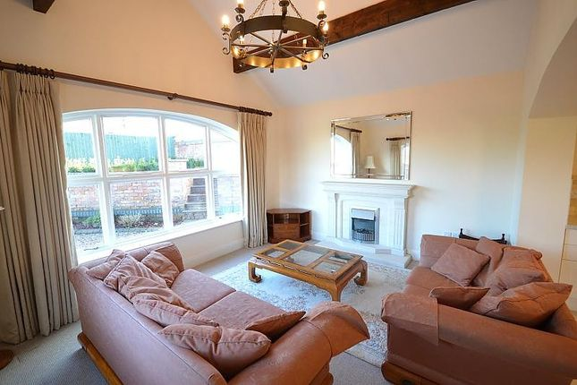 Living Room of Dane Manor Barn, Northwich Road, Lower Whitley WA4