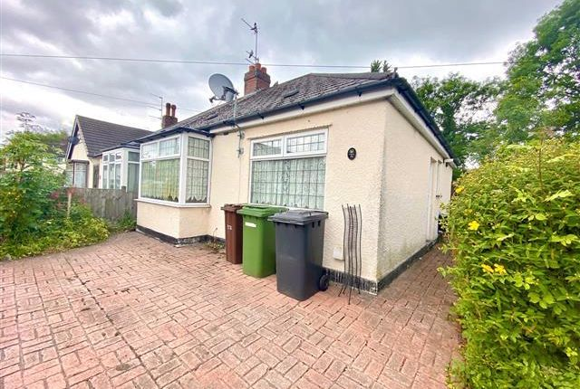 2 bed bungalow to rent in Malins Road, Wolverhampton WV4