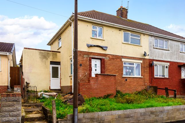 Thumbnail Semi-detached house for sale in Mcquade Place, Barry