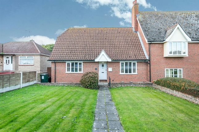 Thumbnail Semi-detached bungalow for sale in Rectory Road, Rowhedge, Colchester