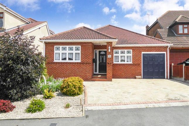 Thumbnail Detached bungalow for sale in Highlands Road, Bowers Gifford, Basildon, Essex