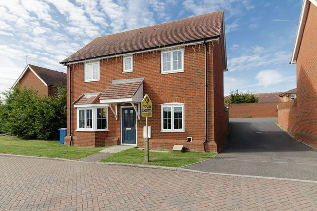 Thumbnail Detached house for sale in Clover Close, Minster On Sea, Sheerness