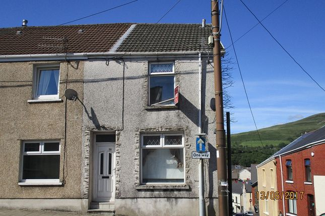 Thumbnail End terrace house to rent in St. Michaels Road, Maesteg