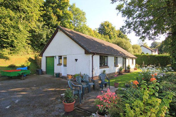 Thumbnail Detached bungalow for sale in Pontarsais, Carmarthen, Carmarthenshire