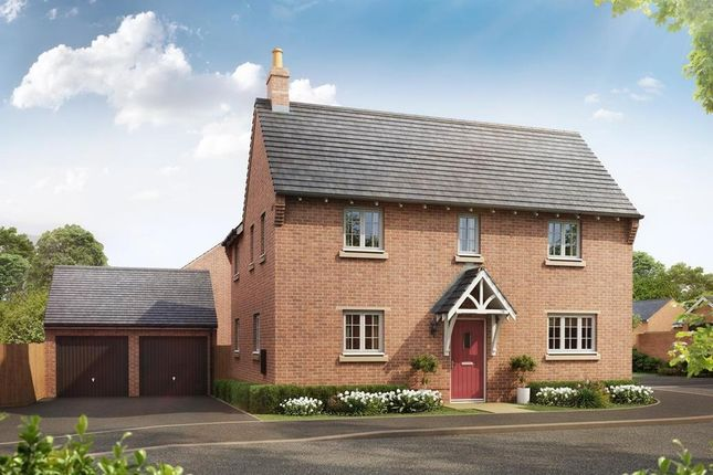 """Thumbnail Detached house for sale in """"Draycote"""" at Fleckney Road, Kibworth, Leicester"""