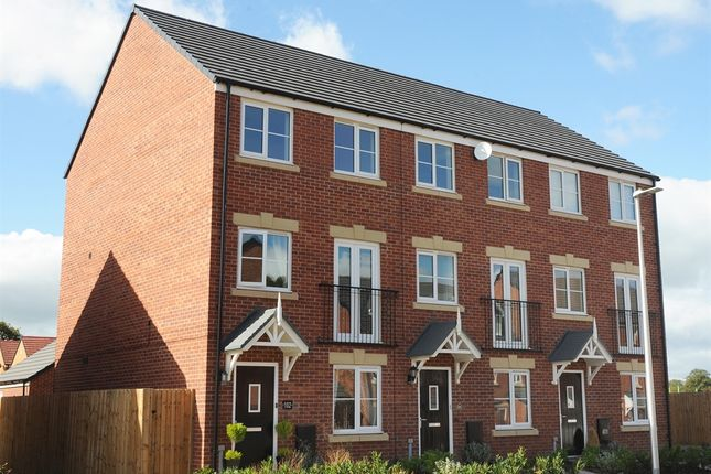 """3 bedroom end terrace house for sale in """"The Greyfriars"""" at Kings Drive, Bridgwater"""