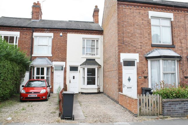 Thumbnail Terraced house to rent in Clarendon Park Road LE2, Leicester