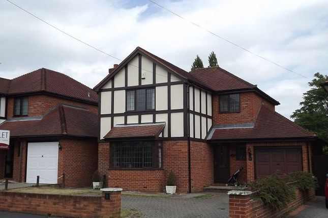 Thumbnail Detached house to rent in Laburnum Grove, Chiswell Green, St.Albans