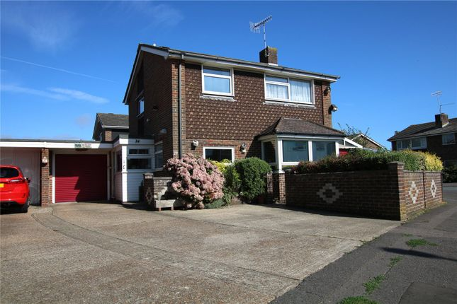 Thumbnail Detached house for sale in Boxgrove, Goring-By-Sea, Worthing, West Sussex