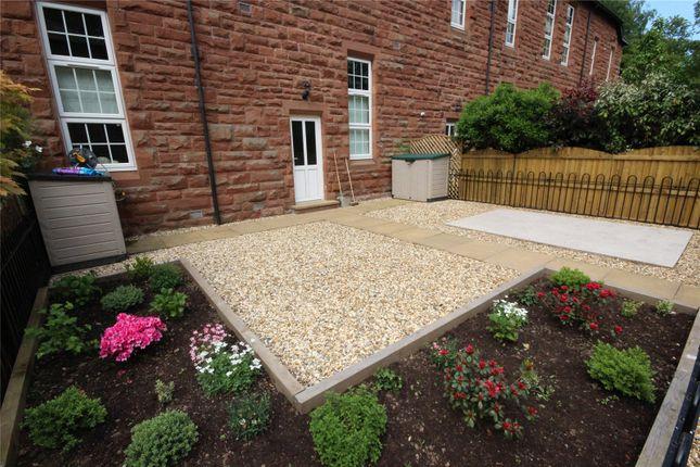 Rear Garden of 7 Twickenham Court, Carlisle, Cumbria CA1