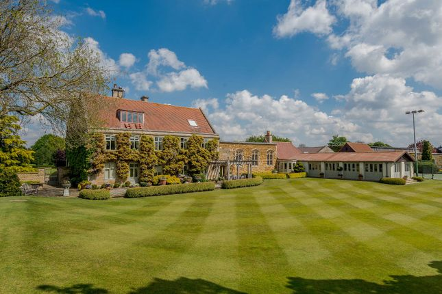 Thumbnail Equestrian property for sale in Hougham Manor, Manor Lane, Hougham, Grantham