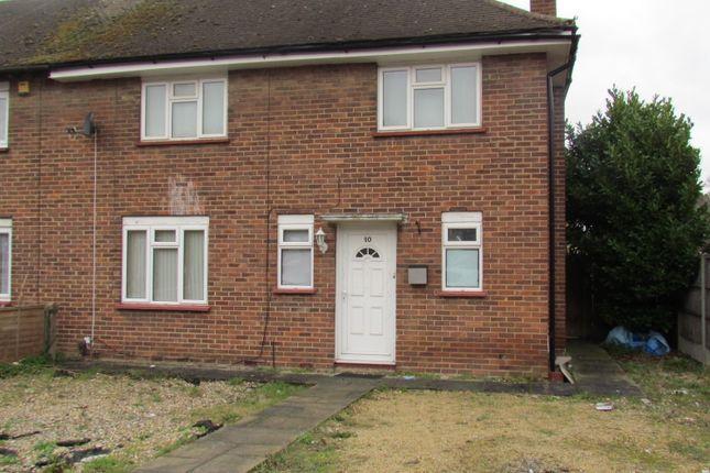 Thumbnail End terrace house to rent in Hazel Ave, Westdrayton