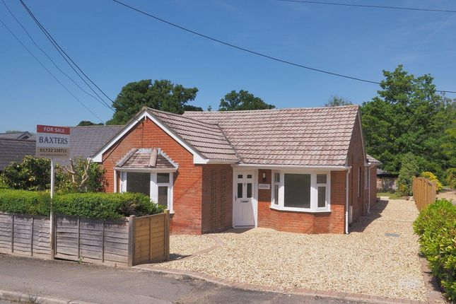 Thumbnail Bungalow for sale in Rectory Road, Alderbury, Salisbury
