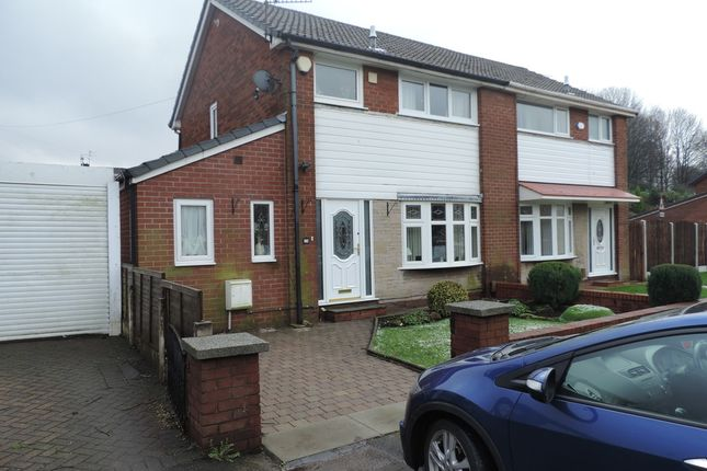 Thumbnail Semi-detached house for sale in Middleton Road, Royton, Oldham
