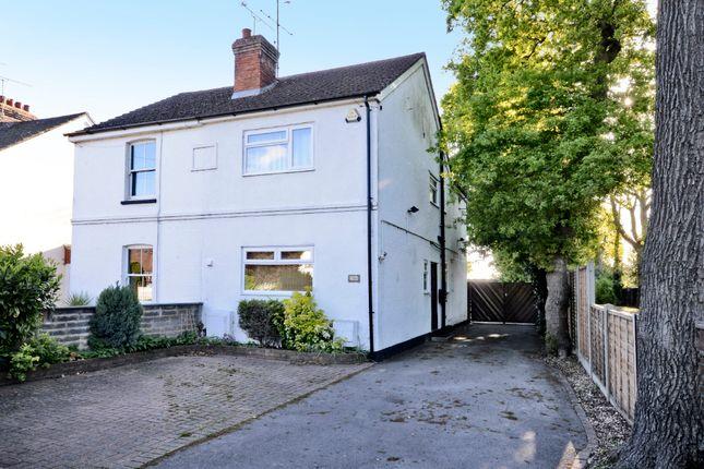 Thumbnail Semi-detached house for sale in Mytchett Road, Mytchett, Camberley