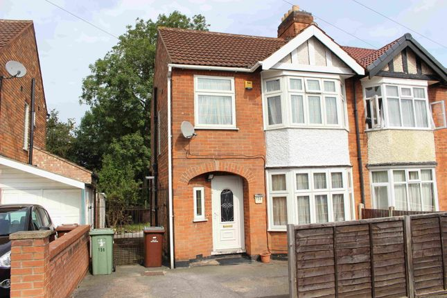Thumbnail Semi-detached house to rent in Charlbury Road, Nottingham, Nottinghamshire