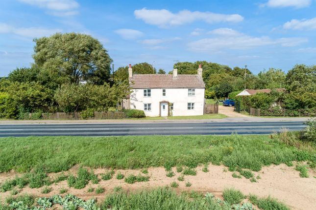 Thumbnail 4 bed detached house for sale in Main Road, Algarkirk, Boston