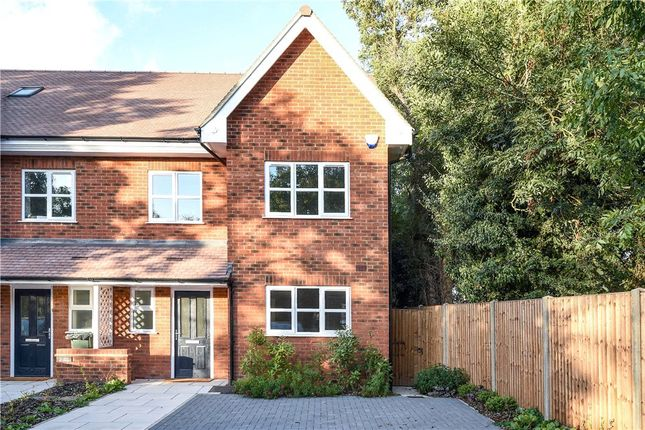 Thumbnail End terrace house for sale in Clover Cottages, Hill End Road, Harefield, Uxbridge