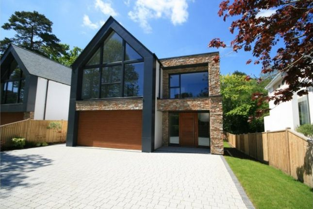 Thumbnail Detached house to rent in Lakeside Road, Branksome Park, Poole