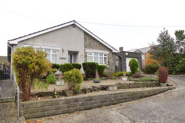 Thumbnail Detached bungalow for sale in John Street, Cefn Cribwr, Bridgend.