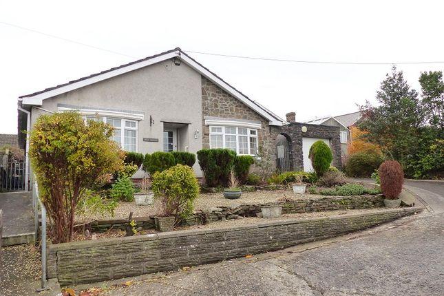 Thumbnail Detached bungalow for sale in John Street, Cefn Cribwr, Bridgend, Bridgend County.