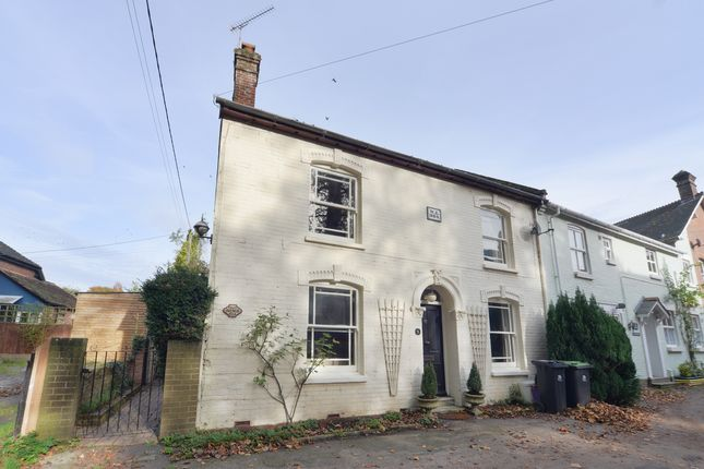 Thumbnail End terrace house for sale in Swan Street, Cranborne, Wimborne