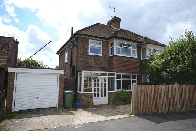 Thumbnail Semi-detached house for sale in Southmead Road, Aldershot, Hampshire