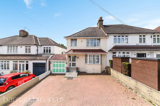 Thumbnail Semi-detached house for sale in Downside Road, Sutton