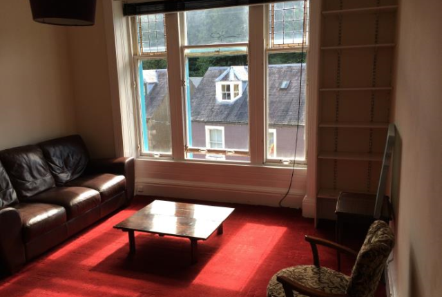 Thumbnail Flat to rent in High Street (Upper), Galashiels
