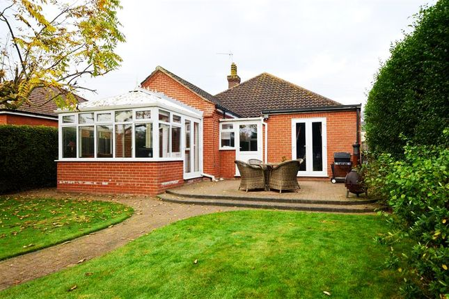 Thumbnail Detached bungalow for sale in Nursery Drive, Norwich Road, North Walsham