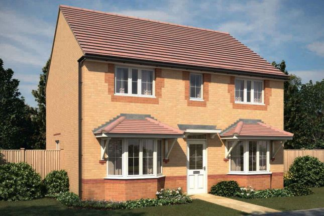 "Thumbnail Detached house for sale in ""Thame"" at Saxon Court, Bicton Heath, Shrewsbury"